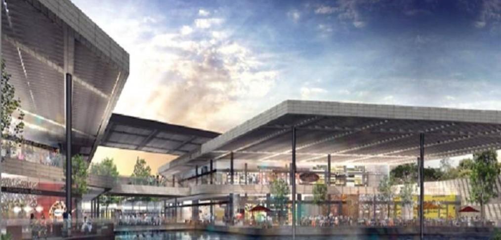 Tendr df mall con lago artificial dificonsa for Oasis coyoacan cinepolis