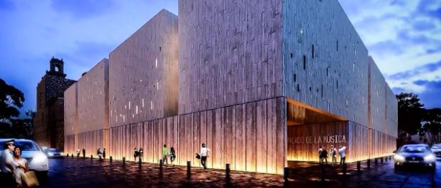 Arranca la construcci n del palacio de la m sica de for Construccion de piscinas merida yucatan