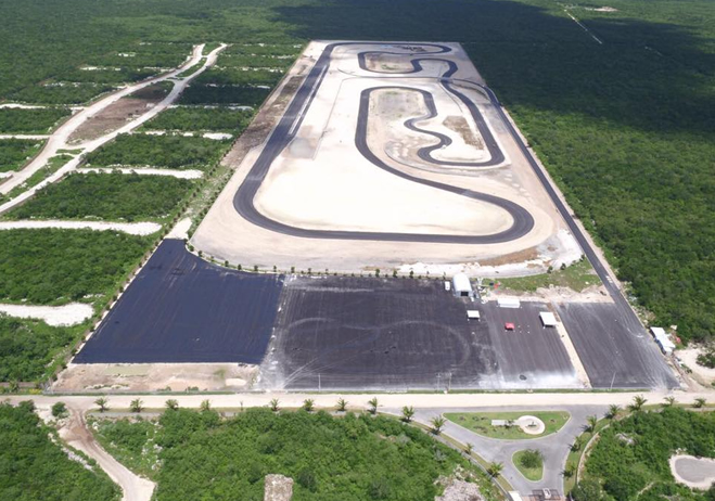 Circuito Yucatan : Autódromo de yucatán será inaugurado por ex campeón la