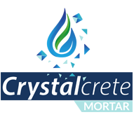 mortero por cristalización